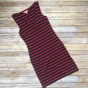 Banana Republic Striped Sleeveless Dress